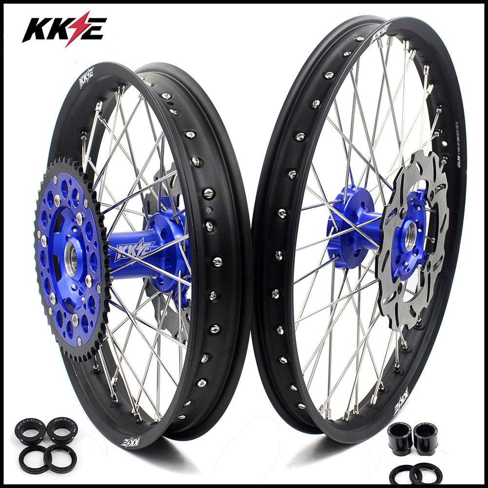 KKE 3.5/4.25*17 DRZ400 DRZ400S DRZ400E SUPERMOTO WHEELS RIMS SET CST TIRE FIT SUZUKI