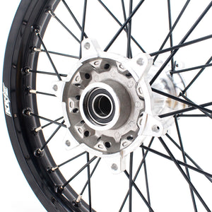 KKE 21 & 19 Casting MX Dirt Bike Wheels for KTM SX SX-F XC XCW XC-F 125-530 2003-2020 Silver