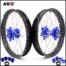 Load image into Gallery viewer, KKE 19 & 19 Flat Track Wheels for KTM SX SX-F XC XC-F XCW 125-530 Blue