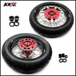 KKE 3.5 & 4.25 Cush Drive Supermoto CST Wheels Rims for Honda XR400R XR600R