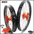 KKE 21 & 18 Cush Drive Enduro Wheels for  EXC EXC-F EXC-W 125-530 2003-2021