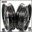 KKE 17 Inch DRZ400 DRZ400E DRZ400S DRZ400SM Supermoto Wheels for Suzuki