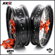 KKE 3.5*17 & 4.5*17 Cush Drive Supermoto Rims for 625 SMC  640 LC4 660 SMC