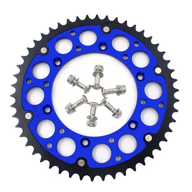 KKE BLUE 44T 48T 49T 50T 51T 52T BILLET SPROCKET FOR YAMAHA YZ250F YZ450F WR250F WR450F YZ125 YZ250 - KKE Racing