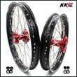 KKE 19 & 16 Kids Wheels Rims for Honda CR80R 1993-2002 CR85R 2003-2008 Red