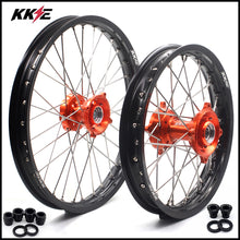 Load image into Gallery viewer, KKE 17 & 14 Kid's Small Wheels Rims fit KTM 85 SX 2003-2020 Orange