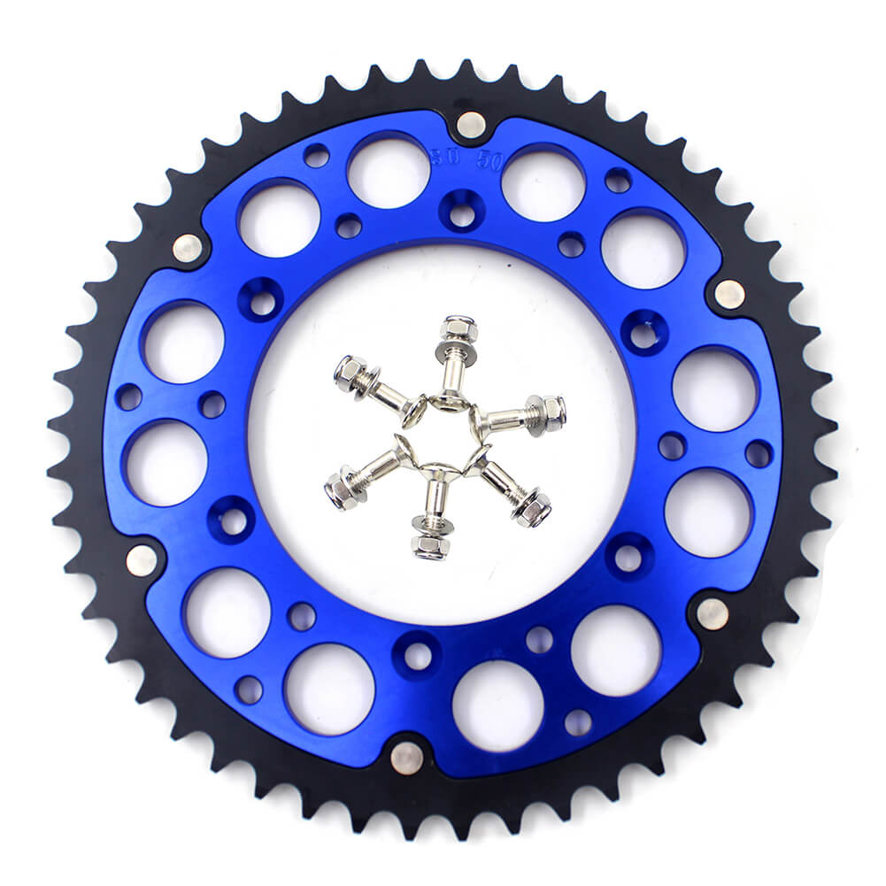 KKE BLUE 44T/48T/49T/50T/51T REAR BILLET SPROCKET FOR SUZUKI DRZ400 DRZ400E DRZ400S DRZ400SM - KKE Racing