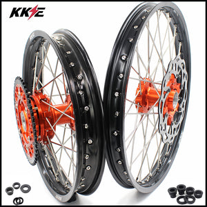 KKE 21 & 18 Cush Drive Enduro Wheels for KTM EXC EXC-F EXC-W 125-530 2003-2020