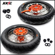 KKE 3.5 & 5.0 Cush Drive Supermoto Wheels Tires for SX SX-F XC-F EXC EXC-F 2003-2021