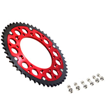 Load image into Gallery viewer, KKE REAR HYBRID SPROCKET 44T/48T/49T/50T/51T/52T RED FOR HONDA CRF250R CRF450R CRF250X CRF450X - KKE Racing