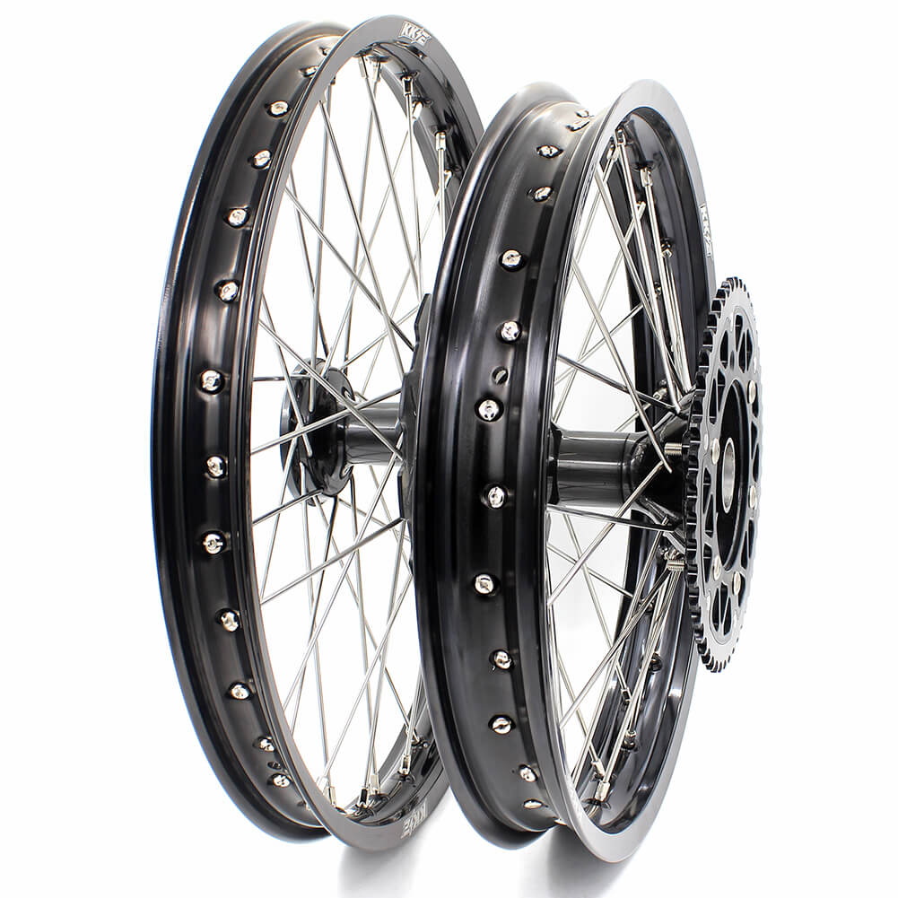 KKE CRF250R 2014 CRF450R 2013-2014 MX CASTING WHEELS SET FIT HONDA DRITBIKE FRONT REAR 240MM DISC
