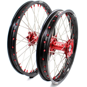 KKE CRF250R 2014-2019 CRF450R 2013-2019 21/18 ENDURO 21/19 MX WHEELS RIMS SET FIT HONDA - KKE Racing