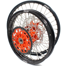 Load image into Gallery viewer, KKE 21/18 CUSH DRIVE WHEELS SET FIT KTM EXC EXCR EXCF 125-530CC 250 300 350 450 525 530 2003-2019 - KKE Racing