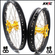 KKE 21 & 18 Enduro Wheels for Suzuki DRZ400 DRZ400E DRZ400S Gold Hub