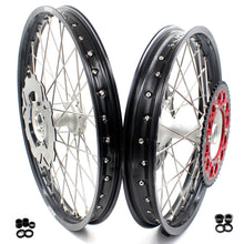 Load image into Gallery viewer, KKE 21/19  MX CASTING WHEELS FOR HONDA CR125R 96-97 CR250R 1996 CR500R 96-01 FRONT & REAR 220MM DISCS - KKE Racing