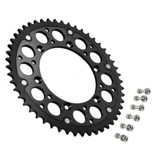 Load image into Gallery viewer, KKE BLACK 44T 48T 49T 50T 51T HYBRID SPROCKET FOR SUZUKI RMZ250 RMZ450 DRZ400 DRZ400E DRZ400S DRZ400SM - KKE Racing