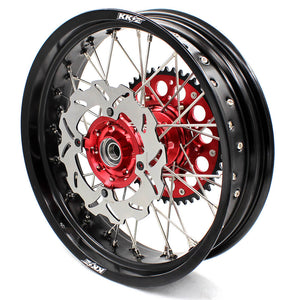 KKE 3.5/4.25 XR400R 1996-2004 XR600R 1991-2000 Supermoto Wheels Set for Honda