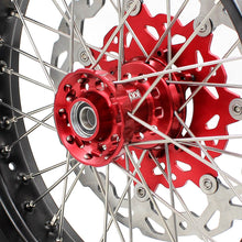 Load image into Gallery viewer, KKE 3.5 & 4.25 Supermoto Wheels for Honda XR650R 2000-2008 Disc Red