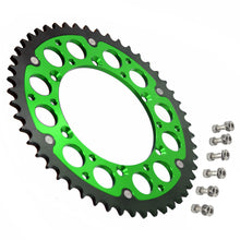 Load image into Gallery viewer, KKE GREEN BLUE 44T 48T 49T 50T 51T REAR BILLET SPROCKET FOR KAWASAKI KX250F KX450F 06-19 KLX 450R 07-17 - KKE Racing