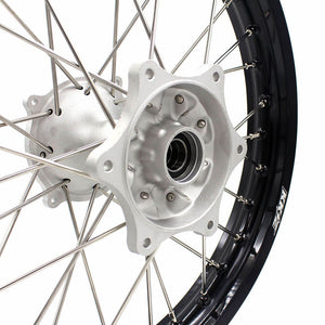 KKE CRF250R 2014-2019 CRF450R 2013-2019 21/19 MX CASTING WHEELS RIMS SET FIT HONDA DIRTBIKE MOTOCROSS - KKE Racing