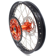 Load image into Gallery viewer, KKE 21/18 21/19 MX ENDURO WHEELS RIMS SET FIT KTM SXF XCF XCW EXCR EXCF 125-530 250 300 350 450 525 530CC - KKE Racing