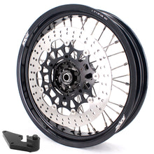 Load image into Gallery viewer, KKE 3.5 & 5.0 17 Inch Wheels for Yamaha WR250F 2001 WR450F 2003-2018 Black