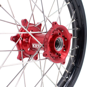 KKE 21 & 19 / 21 & 18 Wheels Rims for Honda CRF250R 2014 CRF450R 2013 CRF450L 2019-2020