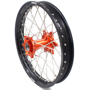 KKE 21/18 21/19 MX ENDURO WHEELS RIMS SET FIT KTM SXF XCF XCW EXCR EXCF 125-530 250 300 350 450 525 530CC - KKE Racing