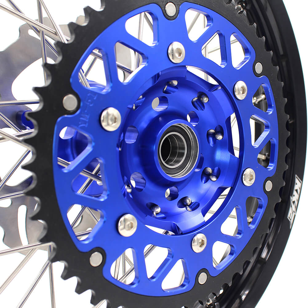 KKE 21/18 ENDURO WHEELS SET FOR YAMAHA WR250F 2001-2018 WR450F 2003-2018