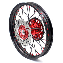Load image into Gallery viewer, KKE 21/19 CASTING COMPLETE WHEELS SET FOR HONDA CRF250R 04-13 CRF450R 02-12 240MM DISCS - KKE Racing