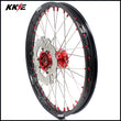 KKE 21 Inch Casting Front Wheel Rim for HONDA XR400R 1996-2004 Red Disc