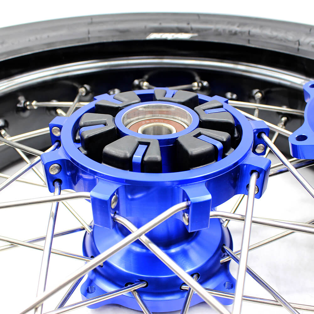 SUZUKI-DR650SE-SUPERMOTO -WHEELS-SET-CUSH-RUBBER-6PCS