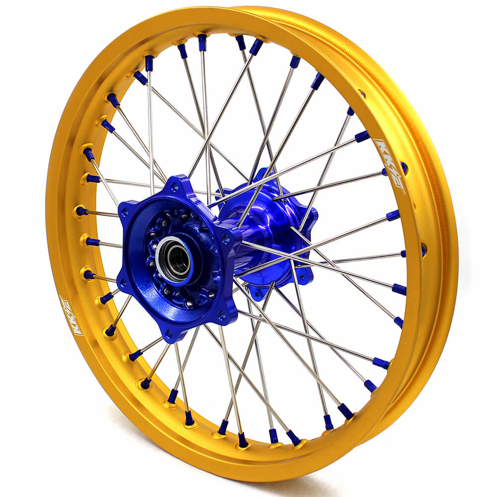 KKE CASTING MX/ENDURO WHEELS SET FIT YAMAHA YZ125 YZ250 YZ250F YZ450F GOLD RIMS