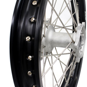 "KKE 19"" MX Cast Rear Wheel for Yamaha YZ125 YZ250 YZ250F YZ450F Silver"