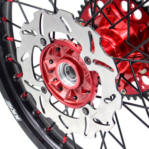 KKE 21/19 CASTING COMPLETE WHEELS SET FOR HONDA CRF250R 04-13 CRF450R 02-12 240MM DISCS - KKE Racing