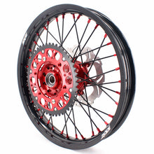 Load image into Gallery viewer, KKE 21 & 19 MX Wheels for Suzuki RM125 2001-2007 RM250 2008 Red Black