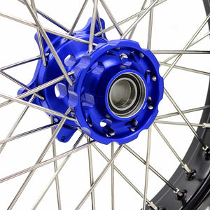 KKE 3.5/4.25 SPOKED SUPERMOTO WHEELS SET FOR KTM EXC EXCF XCW XCF SXF SX 125-530 03-19 - KKE Racing