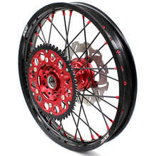 Load image into Gallery viewer, KKE CRF250R CRF450R 2015-2019 WHEELS RIMS SET FIT HONDA MX ENDURO DIRTBIKE 260MM FRONT DISC - KKE Racing