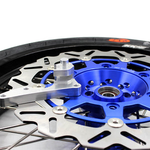 KKE 3.5/4.25*17 CST TIRE FIT SUZUKI DR650SE 1996-2016 SUPERMOTO MOTARD CUSH DRIVE WHEELS RIMS SET - KKE Racing