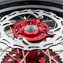 Load image into Gallery viewer, KKE 17 Inch Supermoto Wheels Tires for SUZUKI RMZ250 2007 RMZ450 2005-2020 Red
