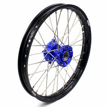 Load image into Gallery viewer, KKE 19 & 16 Kids Wheels Rims Set for KTM85 SX 2003-2020 Blue Hub Black Rims