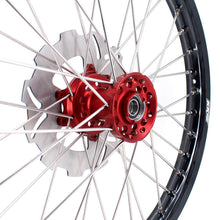 Load image into Gallery viewer, KKE 21 & 19 / 21 & 18 Wheels Set for HONDA CR125R CR250R 2002-2013 CRF250R 04-13 CRF450R 02-12 Red
