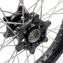 Load image into Gallery viewer, KKE 2.5*19/4.25*17 CUSH DRIVE SUPERMOTO WHEELS SET FOR KTM 990 950 2003-2015 DUAL DISC - KKE Racing