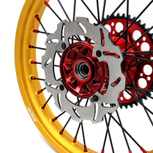 Load image into Gallery viewer, KKE 21 & 19 Casting MX Gold Wheels for HONDA CR125R 1996-1997 CR250R 1996