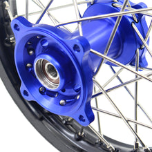 Load image into Gallery viewer, KKE 14 & 12 Kids Wheels Rims Set for YAMAHA YZ65 2018-2019 Blue