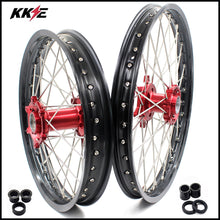 Load image into Gallery viewer, KKE 21 & 18 Spoked Enduro Wheels Rims Set FOR BETA RR 2013-2020 Red
