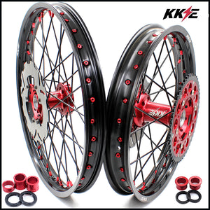 KKE 21 & 18 / 21 & 19 Wheels Rims for Honda CRF250R CRF 450R 2015-2020 Discs