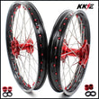 KKE 21 19 Cast Rims fit HONDA CRF250R 2004-2013 CRF450R 2002-2012 Gold