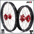 KKE 21 & 18 Enduro Wheels for Honda CRF250X 2004-2018 CRF450X 2005 Red