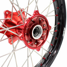 Load image into Gallery viewer, KKE 2.15*19 CASTING REAR WHEEL RIM FOR HONDA CRF250R 04-13 CRF450R 02-12 RED NIPPLE - KKE Racing